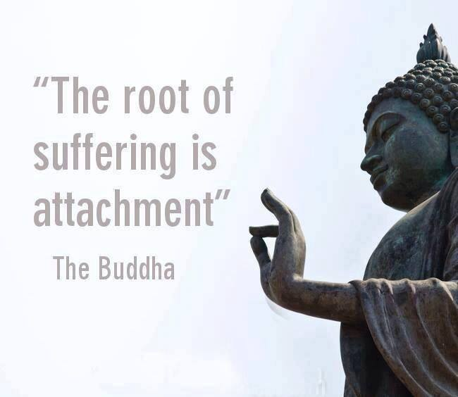 the root of all attachment is fear